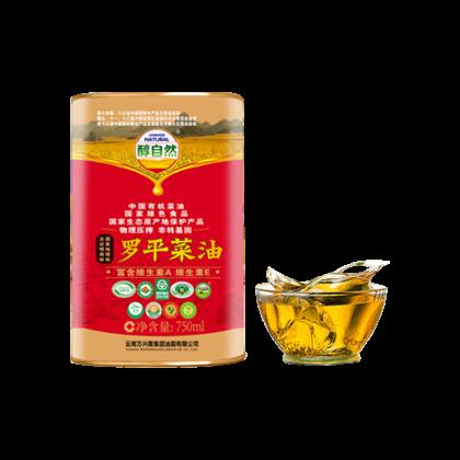 醇自然 罗平菜油 750ml