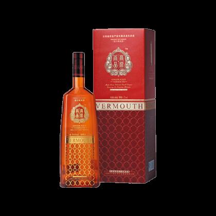 罗平小黄姜纯汁发酵酒 姜汁味美思(黄瓶)