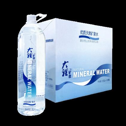 大理矿泉 瓶装水 1.5L*12瓶