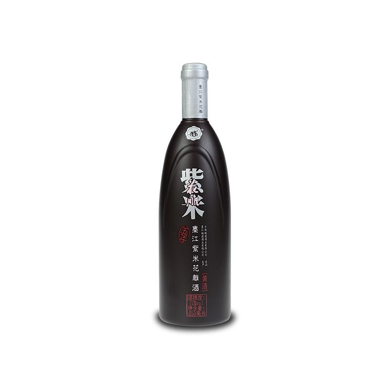 地道云南 五年紫米花雕(15°)650ML/瓶