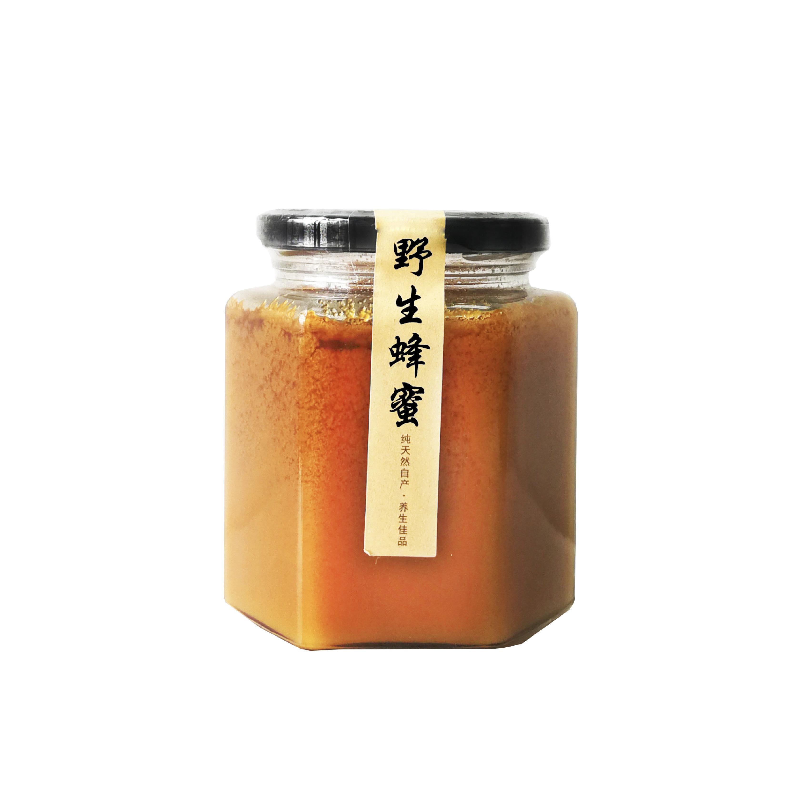 云南季野生百花蜂蜜 500g/罐