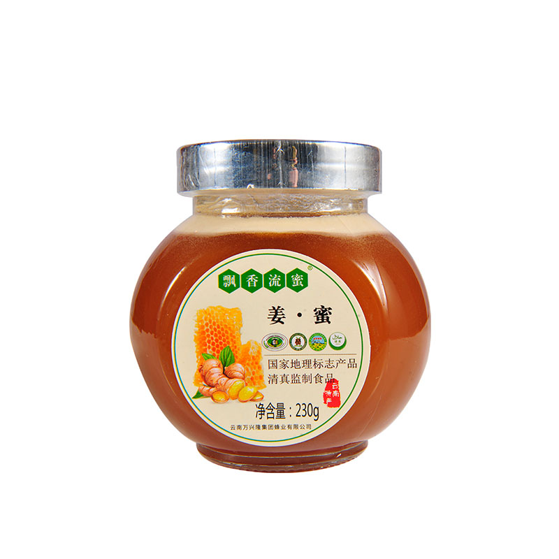 罗平姜蜜230g/瓶