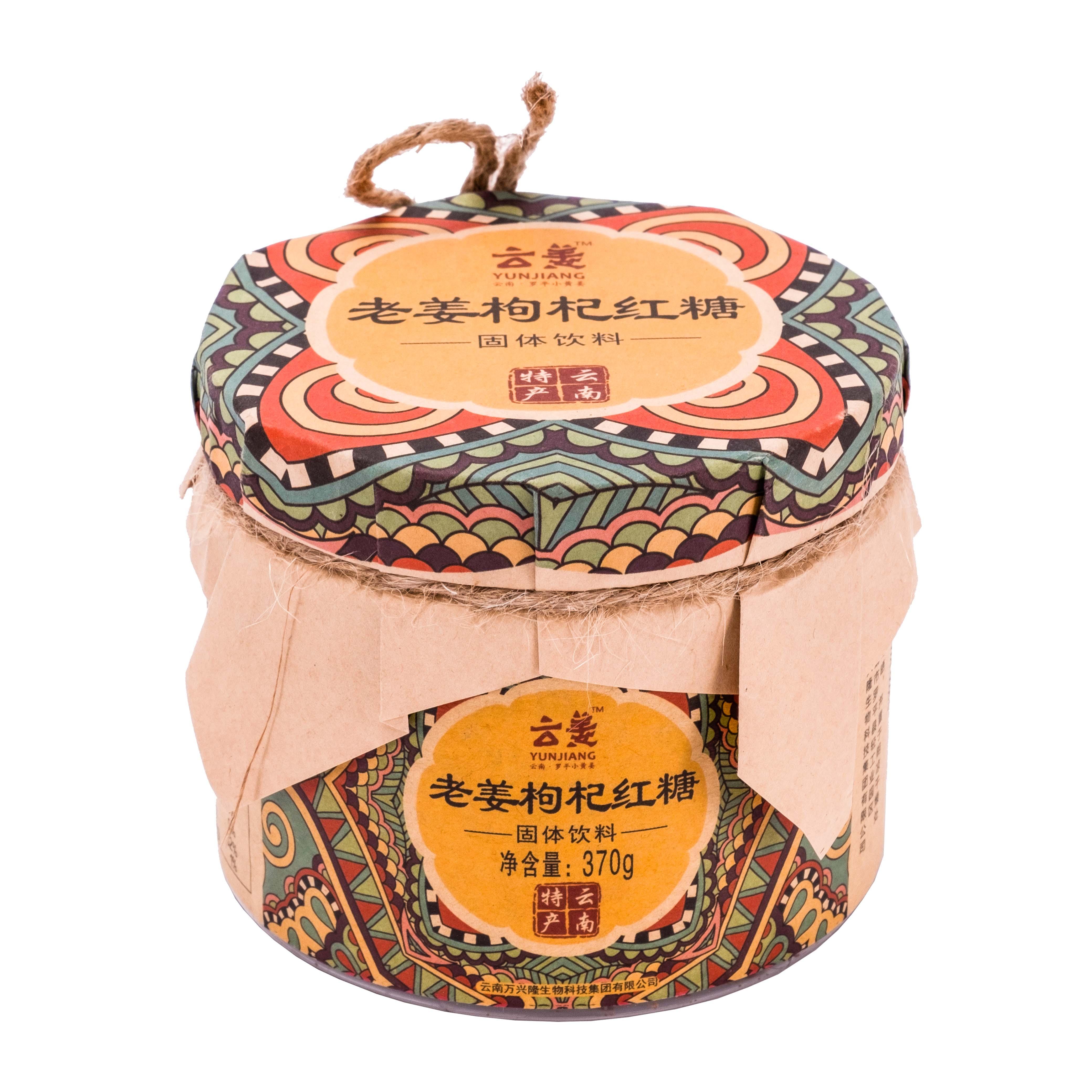 云姜老姜枸杞红糖370g/瓶