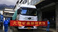 云南企业在行动  大理神野有限公司捐12万瓶矿泉水驰援武汉
