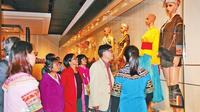 云南少数民族服装服饰在台展出