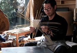 竹篮打水一场空终结者,非遗传承人李加云的竹编能养鱼